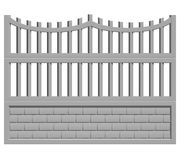 Fence concrete Royalty Free Stock Photography