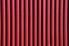 Fence of corrugated metal Stock Photography