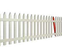 Fence, 3D Stock Photo