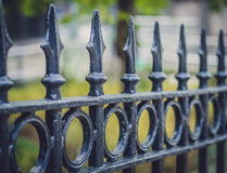 Fence detail Royalty Free Stock Photo
