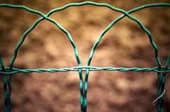Fence details Stock Photo