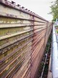 Fence dividing Tijuana and San Ysidro (San Diego), California Royalty Free Stock Images