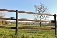 Fence electrified Royalty Free Stock Images