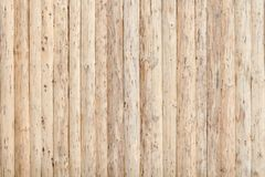 Fence from fresh untreated wooden boards.  royalty free stock photography