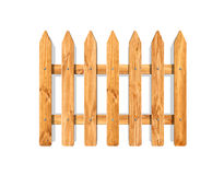 Fence front garden fencing decorative wooden classic style Royalty Free Stock Photography