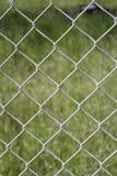 Fence in garden Stock Image