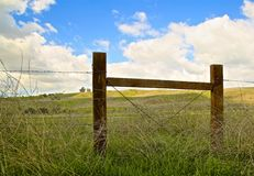 Fence gate Happy Camp Canyon Moorpark California stock images