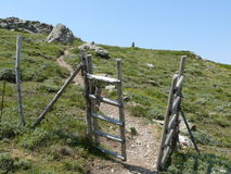 The fence - Gennargentu National Park Royalty Free Stock Images