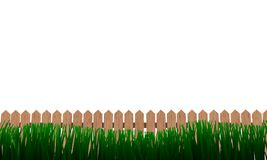Fence grass Royalty Free Stock Photos