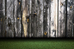 Fence and grass Royalty Free Stock Photography