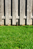 Fence and grass Stock Photo