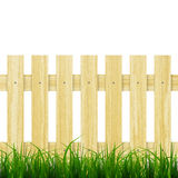 Fence and grass Royalty Free Stock Photos