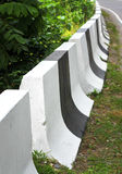 Fence on high-way Stock Photography