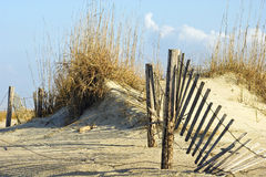 Free Fence In Dunes Stock Images - 10923574