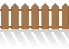The fence isolated Stock Images