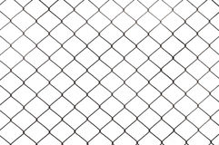 Fence, isolated Stock Photo