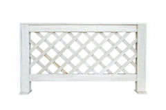 Fence isolated. On white stock photos