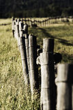 Fence Line Stock Photography