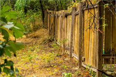 Fence line. I came to take this photo while learning about leading lines and it turned out quite nice Royalty Free Stock Images