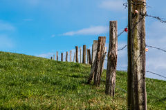 Fence Line Royalty Free Stock Photo