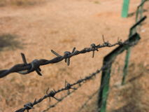Fence link. Boundaries in life Stock Photography