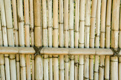 Fence made of bamboo Royalty Free Stock Image