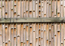 Fence made from bamboo Royalty Free Stock Photo