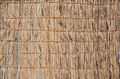 Free Fence Made of Palm Leaves. Royalty Free Stock Photography - 36134727