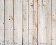 Fence nails Wooden background texture. Fence with nails. Wooden background with natural wood pattern. Abstract texture stock photo