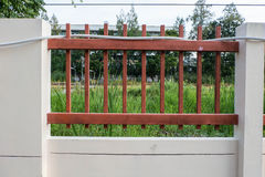 Fence with nature Stock Photos