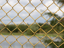 Fence netting Royalty Free Stock Images