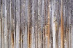 Fence from old boards. Close up royalty free stock photos