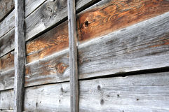 Fence from old boards Stock Image