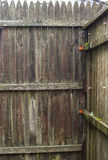Fence-Old Worn Out-Background Royalty Free Stock Images
