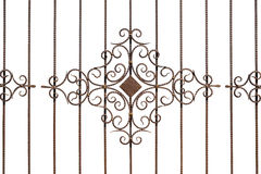 Fence with Ornaments. Stock Images