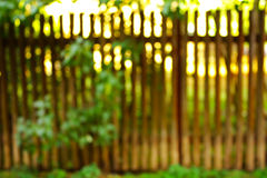 Fence out of focus Royalty Free Stock Photos