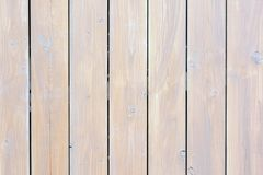 Fence of painted light boards. Background texture of wooden planks. Fence of painted light boards. Blank background texture of wooden planks stock image