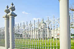 Fence of the palace Royalty Free Stock Images