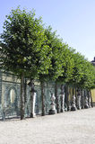 Fence of the Palace from Sanssouci in Potsdam,Germany royalty free stock photos