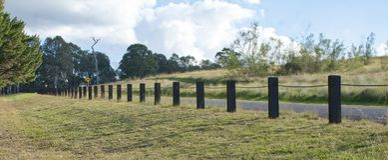 Fence, Pasture, Grass, Land Lot stock image