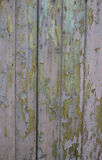 Fence with Peeling Paint Stock Photography