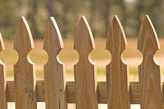 Fence Pickets Stock Image