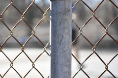 Fence Pole royalty free stock images