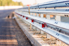 Fence roads Royalty Free Stock Images