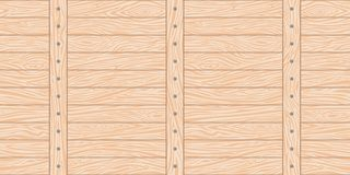 Fence seamless background. Seamless in all directions the background of a wooden fence with horizontal and vertical slats and nails on them. Natural material is Royalty Free Stock Image