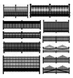 Fence set Royalty Free Stock Photography