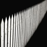 Fence with sharp extremities Royalty Free Stock Image