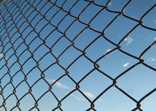 Fence. On the sky background Stock Image