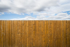 Fence Sky. The freedom is behind the fence Stock Image