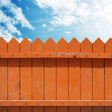 Fence with Sky Stock Photos